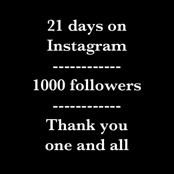 1000 følgere